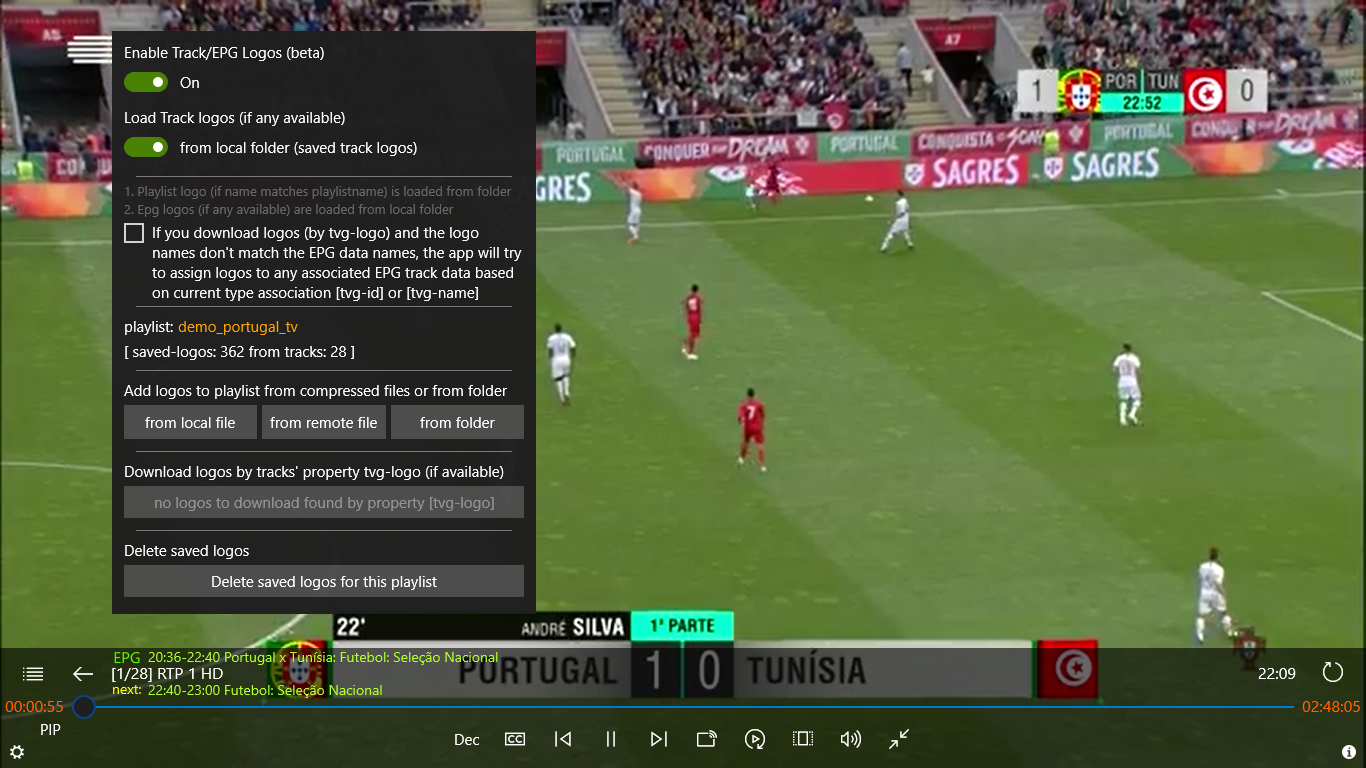 Iptv Player With Epg